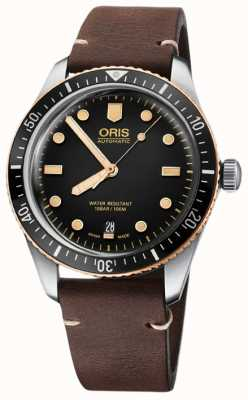 ORIS Divers Sixty-Five 40mm Mens Watch 01 733 7707 4354-07 5 20 45