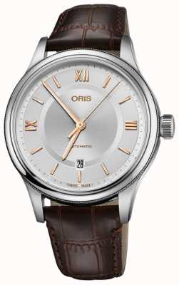 ORIS Classic Date 42mm Mens Watch Swiss 01 733 7719 4071-07 5 20 32