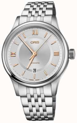 Oris Classic Date 42mm Mens Watch 01 733 7719 4071 07 8 20 10