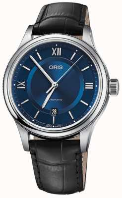 Oris Classic Date 42mm Mens Watch Swiss 01 733 7719 4075 07 5 20 35