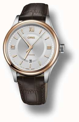 Oris Classic Date Automatic Silver Dial Men's Watch 01 733 7719 4371 07 5 20 32