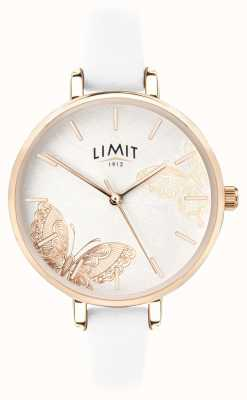 Limit | Womens Secret Garden Watch | White Butterfly Dial | 60013