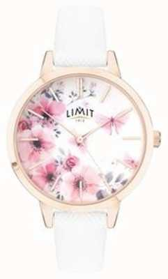Limit | Womens Secret Garden Watch | Pink And White Floral Dial | 60021