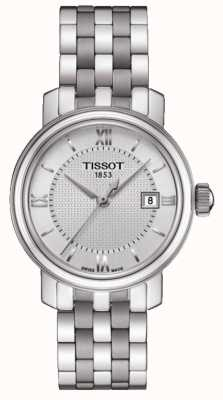 Tissot Women's Bridgeport Stainless Steel Silver Dial T0970101103800
