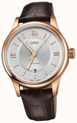 ORIS Classic Date 42mm Mens Swiss Watch 01 733 7719 4871-07 6 20 32