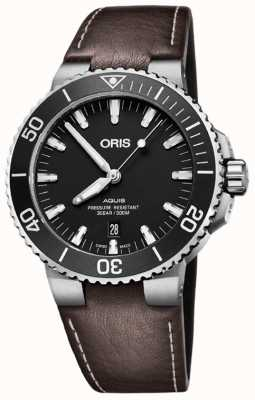 ORIS Aquis Swiss Date 43.5mm Mens Watch 01 733 7730 4124 07 5 24 10EB