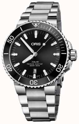 Oris Aquis Date 43.5mm Mens Watch 01 733 7730 4134-07 8 24 05PEB