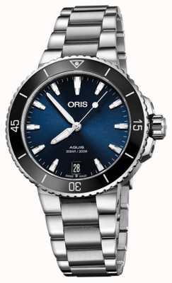 Oris Aquis Date 36.5mm Midsize Watch 01 733 7731 4135-07 8 18 05P