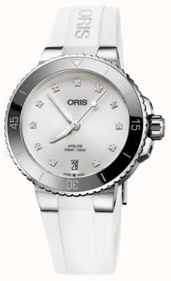 ORIS Aquis Date Diamonds 36.5mm Midsize Watch 01 733 7731 4191-07 4 18 63FC