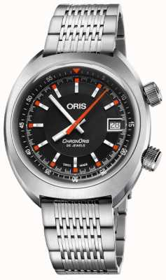 Oris Chronoris Date 39mm Automatic Watch 01 733 7737 4054-07 8 19 01