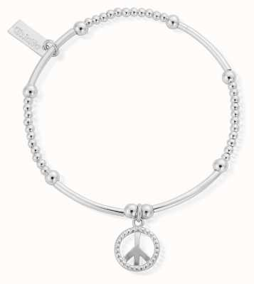 ChloBo Women's | Cute Mini Stud Peace | Bracelet SBCM124