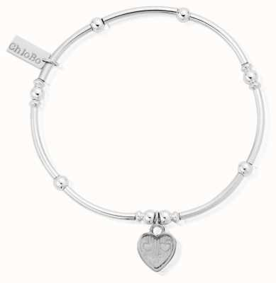 ChloBo Womens | Mini Noodle Ball Tri-Heart | Bracelet SBMNB005