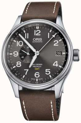 Oris Big Crown ProPilot GMT Small Seconds 45mm Mens Watch 01 748 7710 4063-07 5 22 05FC
