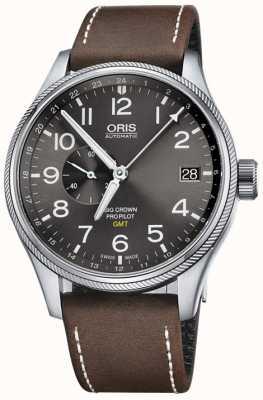 Oris Big Crown ProPilot GMT Small Seconds 45mm Mens Watch 01 748 7710 4063-07 5 22 05FC