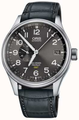 Oris Big Crown ProPilot GMT Small Seconds 45mm Mens Watch 01 748 7710 4063-07 5 22 06FC