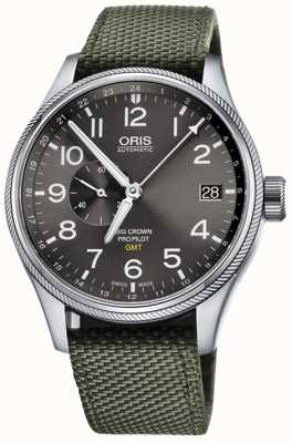 Oris Big Crown ProPilot GMT Small Seconds 45mm Mens Watch 01 748 7710 4063-07 5 22 14FC