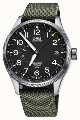 Oris Big Crown ProPilot GMT Small Seconds 45mm Mens Watch 01 748 7710 4164-07 5 22 14FC