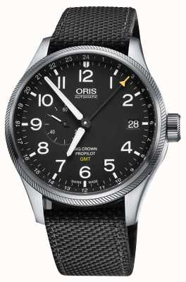 Oris Big Crown ProPilot GMT Small Seconds 45mm Mens Watch 01 748 7710 4164-07 5 22 15FC