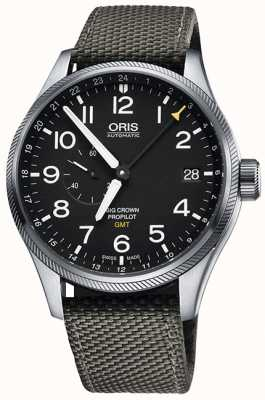 Oris Big Crown ProPilot GMT Small Seconds 45mm Mens Watch 01 748 7710 4164-07 5 22 17FC