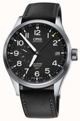 Oris Big Crown ProPilot GMT Small Seconds 45mm Mens Watch 01 748 7710 4164-07 5 22 19FC