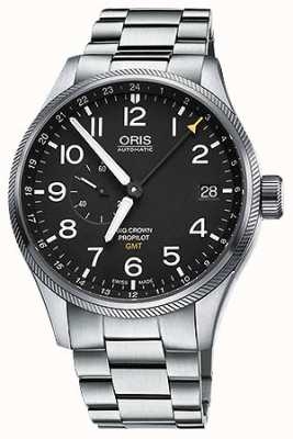Oris Big Crown ProPilot GMT Small Seconds 45mm Mens Watch 01 748 7710 4164-07 8 22 19