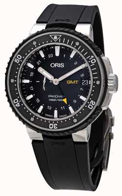 Oris ProDiver GMT Automatic Black Watch 01 748 7748 7154-07 4 26 74TEB