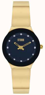 STORM | Arin Curvex Gold Black Watch | 47426/GD