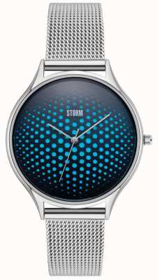 STORM | Cobra-X Blue Watch | Stainless Steel Mesh Straps | 47427/B