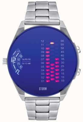 STORM | Digirem Lazer Blue Stainless Steel Watch | 47431/LB