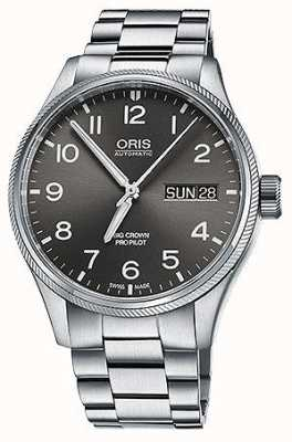 Oris Big Crown ProPilot Day Date 45mm Mens Watch 01 752 7698 4063-07 8 22 19