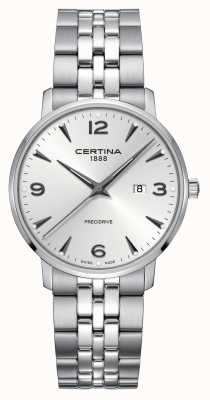 Certina Mens DS Caimano Stainless Steel Silver Dial C0354101103700