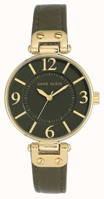 Anne Klein | Womens Chelsea Watch | Khaki | 10-N9168OLOL