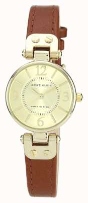 Anne Klein | Womens Manhattan Watch | Tan Leather | 10-N9442CHHY