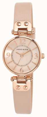 Anne Klein | Womens Manhattan Watch | Nude Leather | 10-N9442RGLP