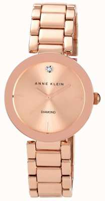 Anne Klein | Womens Liberty | Rose Gold Tone Bracelet Watch | AK-N1362RGRG