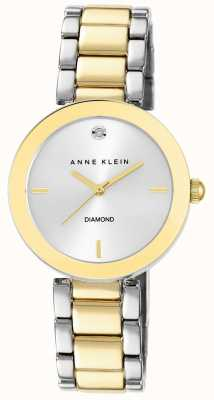 Anne Klein | Womens Liberty | Two Tone Bracelet Watch | AK-N1363SVTT