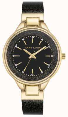 Anne Klein | Womens Classic Watch | Black And Gold | AK-N1408BKBK
