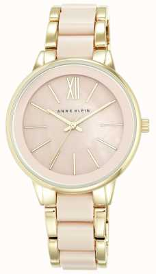 Anne Klein | Womens Olivia Resin Watch | Pink And Gold | AK-N1412BMGB