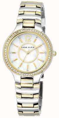 Anne Klein | Womens Charlotte | Two Tone Bracelet Watch | AK-N1855MPTT