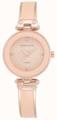 Anne Klein | Womens Clarissa | Rose Gold Bangle Watch | AK-N1980BMRG