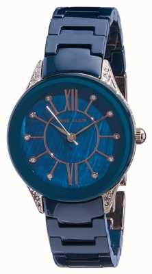 Anne Klein | Womens Navy Ceramic Watch | AK-N2388RGNV