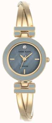 Anne Klein | Womens Lynn | Gold And Grey Bangle Watch | AK-N2622GYGB
