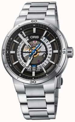 Oris TT1 Engine Date Mens Watch 01 733 7752 4124-07 8 24 08