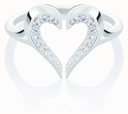 Chamilia Heart Silhouette Ring | Swarovski Zirconia | Large 1125-0633