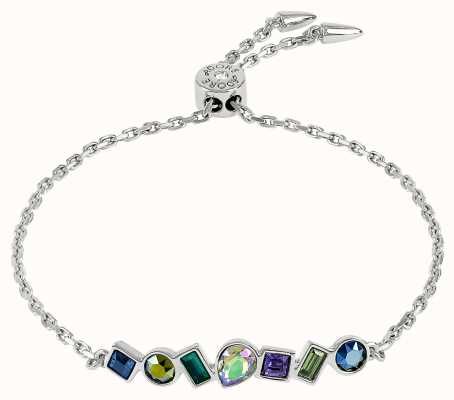 Adore By Swarovski Mixed Crystal Bar Bracelet Rhodium Plated 5375517