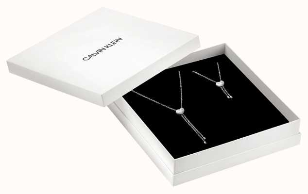 Calvin Klein | Love Heart Set | Necklace And Bracelet | KJ9999999974