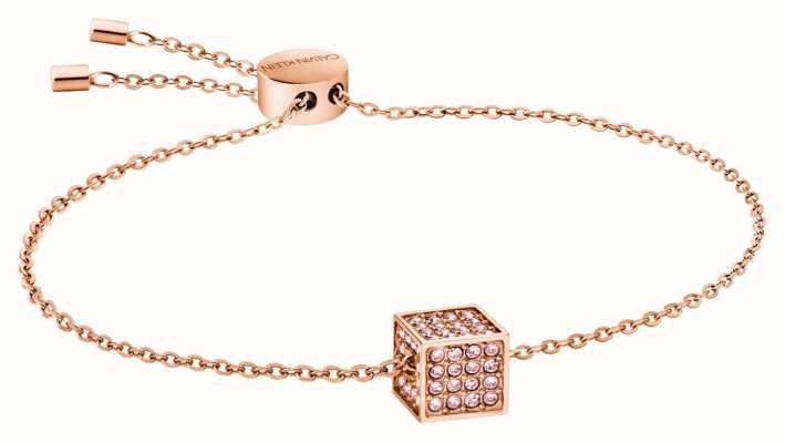 Calvin Klein | Womens Rocking | Rose Gold Bracelet | Swarovski | KJ9CPB140100