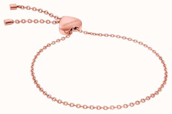 Calvin Klein | Womens Side Bracelet | PVD Rose Gold | KJ5QPB100200