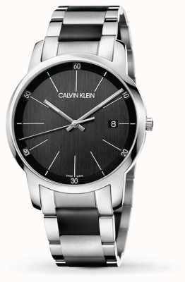 Calvin Klein | Mens City | Two Tone Stainless Steel Bracelet | K2G2G1B1