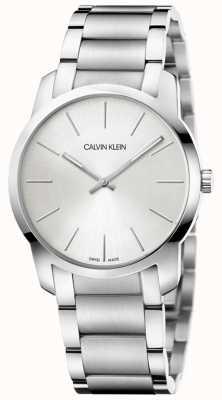 Calvin Klein   City Extension Watch   Two Tone Stainless Steel Bracelet   K2G22146